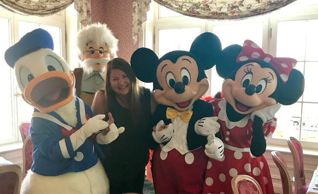 Sandra Pappas, Travel Agency specializing in Disney Packages, Public Relations Dreams Take Flight